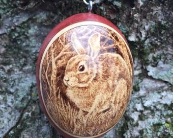 Rabbit Ornament egg gourd