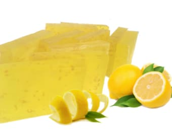 Handmade Lemon Zest Bar Soap
