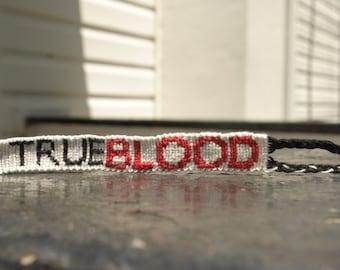True Blood Friendship Bracelet --- S A L E