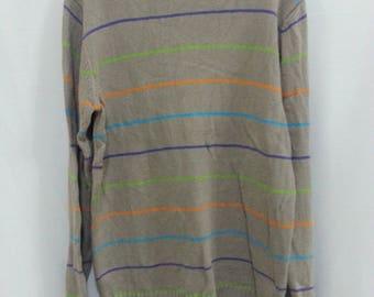 Sweatshirt Stripes Sweater Knitwear Nice Design Medium Size