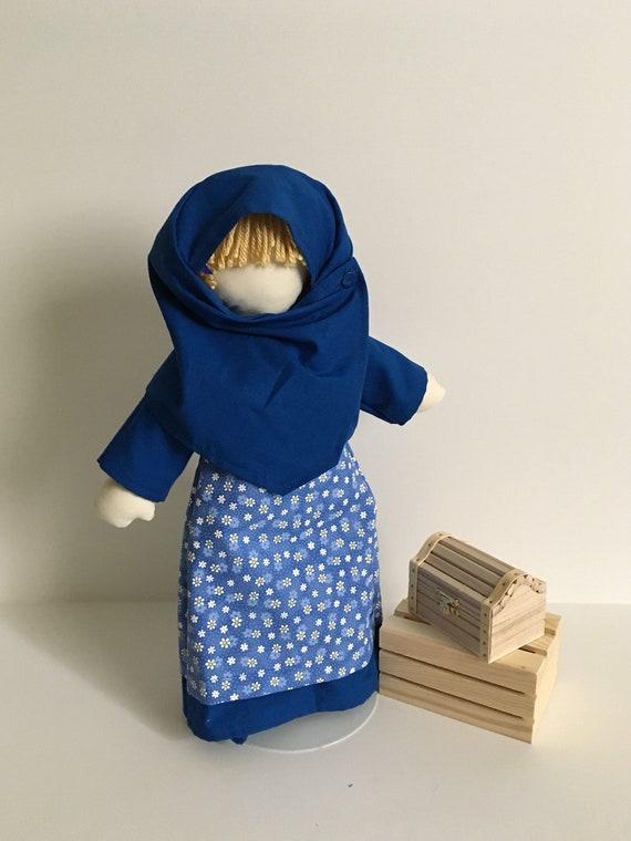 Lil' Muslimah in Blue