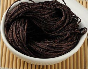 Brown macrame craft 30 meters wire