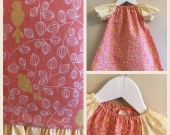 "Memorial Day Sale Spring Dresses -""Yellow Birds"""