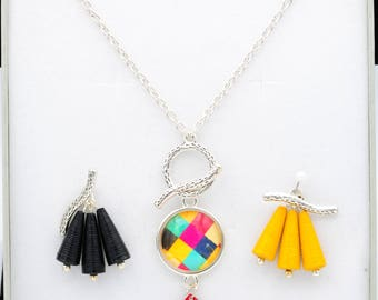 Necklace and pendants inetrchangeables