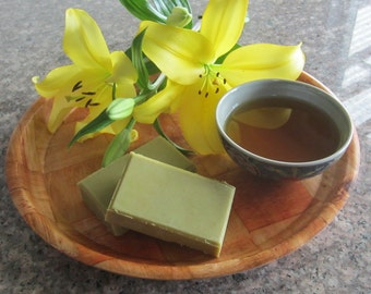 Green Tea Goats Milk Soap