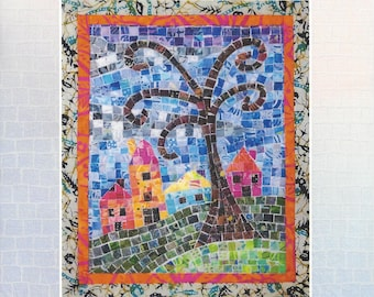 Tiny Town Mini Mosaic Quilt Pattern by Cheryl Lynch Quilts