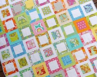 Sweet Daisy Quilt Pattern (PDF file) - Immediate Download