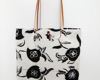 TOTE BAG white BATIK