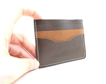 Card wallet, Credit card holder, Handmade card holder, leather card holder, leather card case