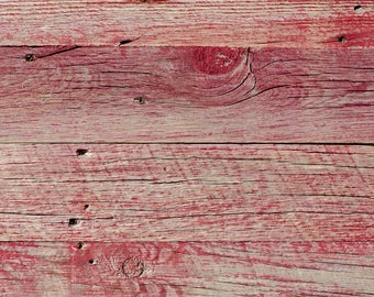 Reclaimed Wood Sundance-Red Planks - 4 inches wide