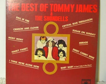 The Best Of Tommy James And The Shondells, LP, Vinyl Record, Record, Vintage Record, Antiques