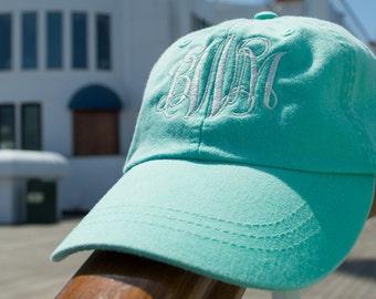 Personalized Monogram Cap, Monogrammed Hat, Bridal Party Gift, Bridesmaid Gift, Custom Hat, Monogram Hat, Embroidered Hat, Personalized Hat