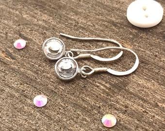 April birthstone, april birthday gifts, april birthstone jewelry, april birthday, april crystal, crystal birthstone charm, swarovski charm,