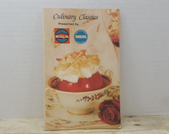 Culinary Classics 1967, ERA, vintage cookbook