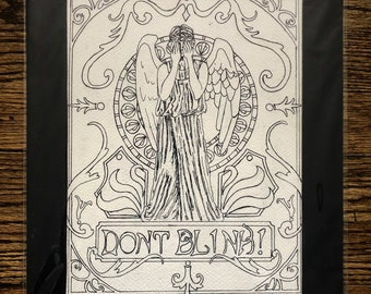 Don't Blink Doctor Who Weeping Angel