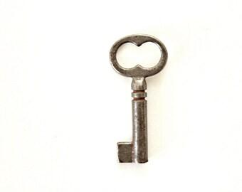 Small Key tiny skeleton key to my heart lock key little tiny key jewelry industrial steampunk old key vintage key 150