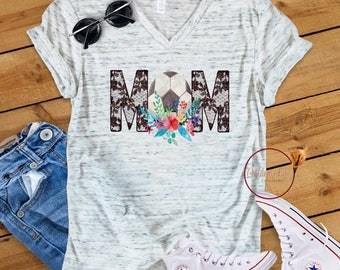 Soccer mom/Lace/Flowers/Mom shirt/Summer/Gift under 30/Mom ideas/gift for her/him/friend gift/sarcastic shirt/funny gift/wife/girlfriend