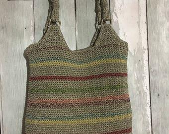 Vintage // Retro Crochet Handbag