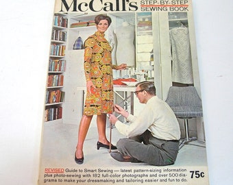 McCall's Step By Step Sewing Book, 1969