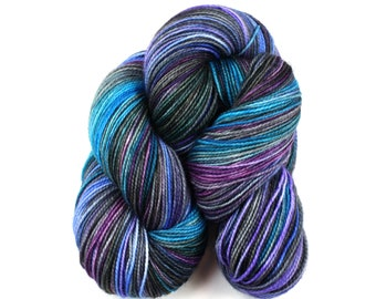 Josette--hand dyed sock yarn, 2ply BFL and nylon, (400yds/100gm)