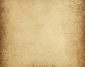 Brown Background, Tan Beige Distressed Background, DIY Scrapbook Paper, 12x12 Printable Paper, Digital Graphic