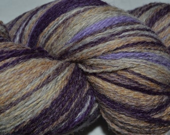 KAUNI ,Artistic Yarn, Gradient Yarn,Wool  Yarn 8/2, 2 ply,Thomas Color, skein 192 g.