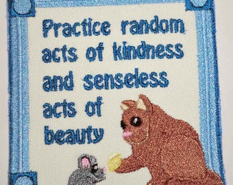 Iron-On Patch - Practice Random Acts of Kindness