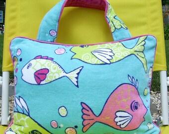 Pillow Beach Pillow Travel Pillow Fish