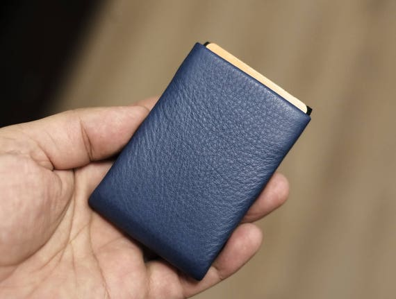 Mens Wallet, Mens Leather Wallet, Minimal Leather Wallet, Minimalist Wallet, RFID Wallet