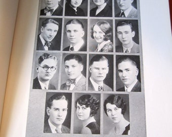 Beautiful 1928 Portland Oregon High School Yearbook.  Unique and Beautiful - Mother Goose Theme
