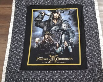 Pirates of the Caribbean extra lg throw