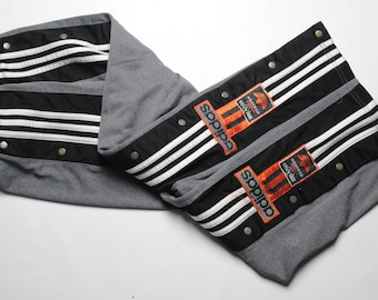 vintage Adidas Originals track pants SIZE M/L GRAY the brand with the three strips