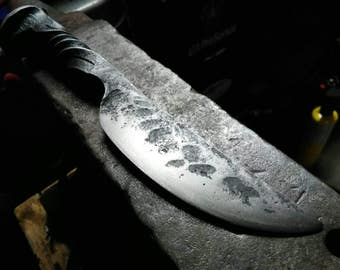 SALE PRICE! Hand Forged Spike Knife.