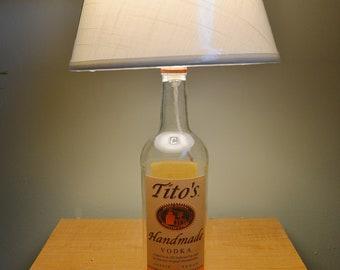 Tito's Handmade Vodka Lamp