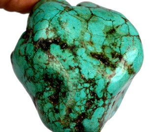293.50 Ct. Natural Arizona Mine Kingman Turquoise Gemstone Rough Best Deal