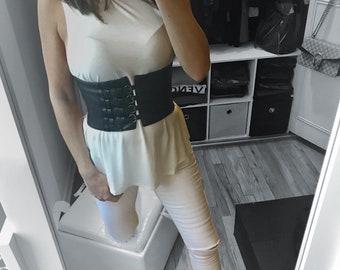 Wide Corset Elastic Belt