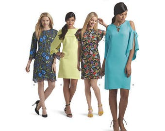 Simplicity Pattern 8544 Misses' and Miss Petite Dress