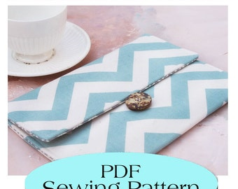 iPad Sleeve Pattern , iPad Case Pattern, iPad Cover PDF Sewing Pattern Ebook Sewing Tutorial, Instant Download