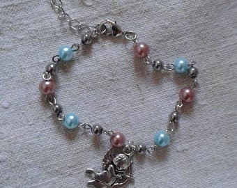 "bracelet ""Cupid and his pearls"""