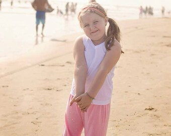 Blow out Sale Inspired by Matilda Jane, children's cropped ruffle pants ....ready to ship