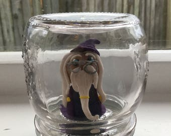 Albus Dumbledore clay