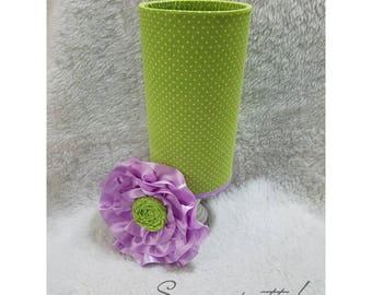 Green and lavender Headband holder, Headband Organizer
