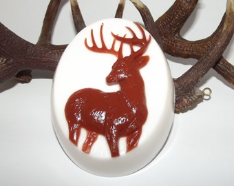 Buck Decorative Glycerin Soap, Elk Soap, Stag Favor, Stag Soap, Deer Soap, Soap for Him, Mens Soap, Hunters Gift, Groomsman Gift