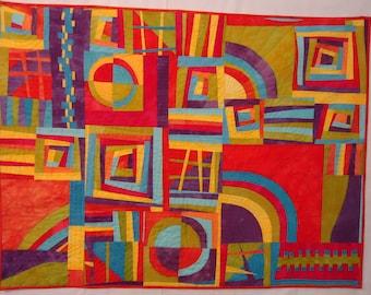 Improvisational Quilt Art Quilt