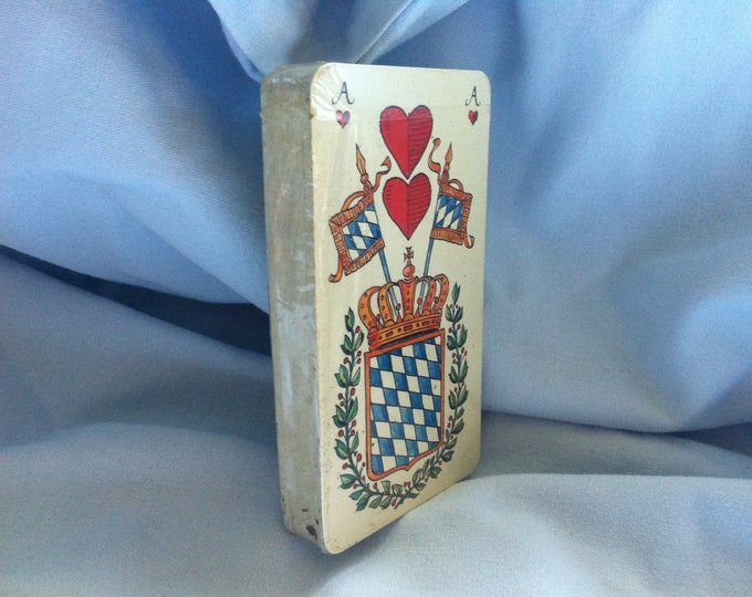 Vintage card Game Bayern games cards original packaging Bavarian mortgages and Change Bank AG top condition
