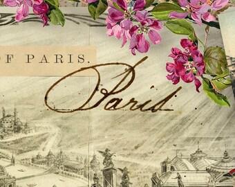 Spring in Paris fabric by the yard Elizabeth's Studio