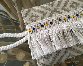 Bag Boho fringe and beads