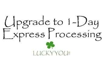 1-Day Express Processing