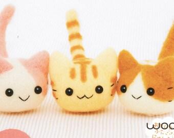 Kitten Triplets Needle Felting Kit