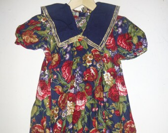 Vintage Hi-Girls Inc Dress 5T / CHRISTMAS Holiday Special Occasion